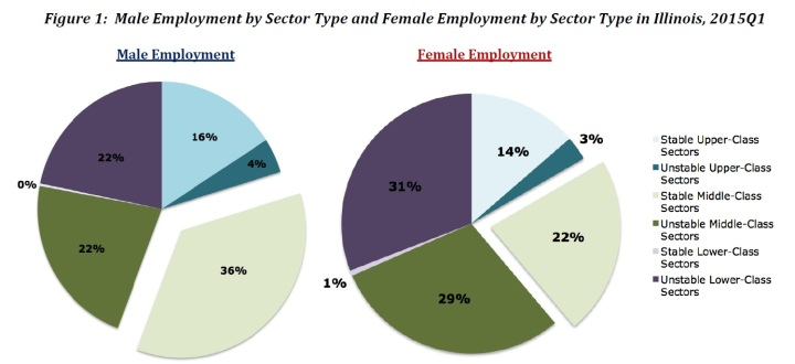 Male Female Sectors of Employment